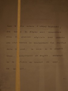 installation / text / foto: zettelmann